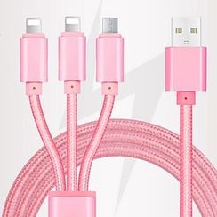 SUGOI - 3 in 1 Phone Data Cable