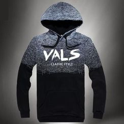 VALS - Lettering Hooded Pullover