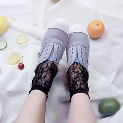 SouthBay Shoes - Lace Socks