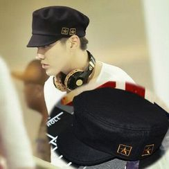 Hats 'n' Tales - Embroidered Military Cap
