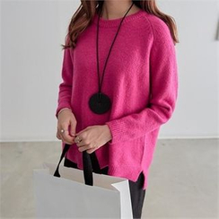PEPER - Raglan-Sleeve Knit Top