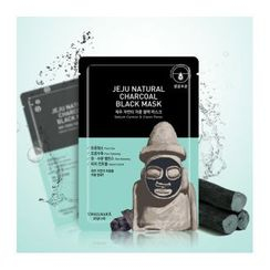 Kwailnara - Jeju Natural Charcoal Black Mask 23g x 10pcs