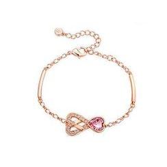 伊泰莲娜 - 施华洛世奇元素水晶心形手链