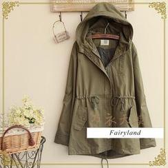 Fairyland - Drawcord Waist Hooded Parka