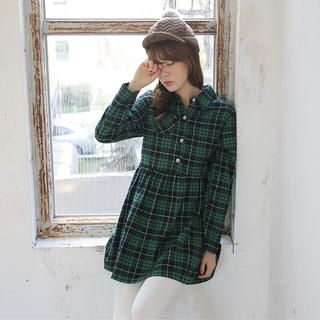 Envy Look - Check Shirt Tunic
