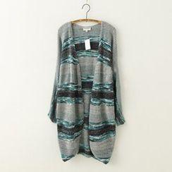 Meimei - 混色粗織開衫