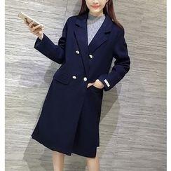 Eva Fashion - Double-breasted Coat