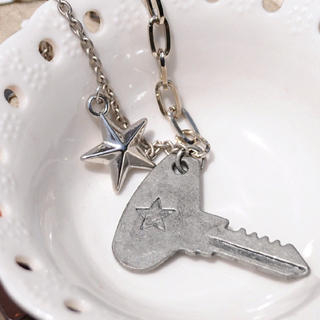 MyLittleThing - Rocking Key & Star Necklace