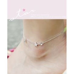 Miss21 Korea - Star Pendant Anklet