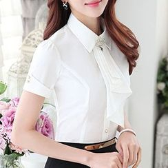 Caroe - Embellished Short-Sleeve Shirt