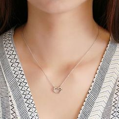 Blinglitz - Heart Pendant Necklace