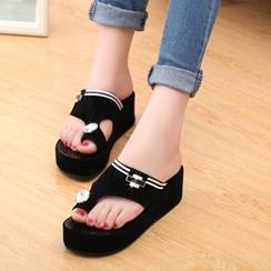 Yoflap - Platform Slide Sandals