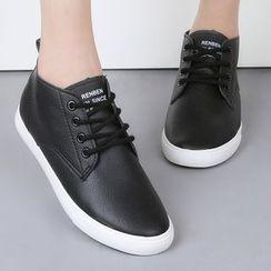Renben - Letter Plain Sneakers