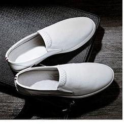 Desert Ram - Faux Leather Slip-Ons