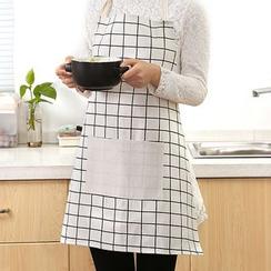 SunShine - 格子圍裙