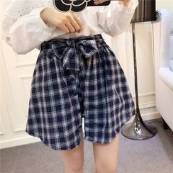 RUI - Plaid Culottes