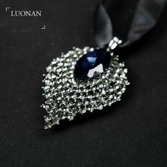 Luonan - Rhinestone Necktie