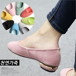 Reneve - Colored Genuine-Leather Flats
