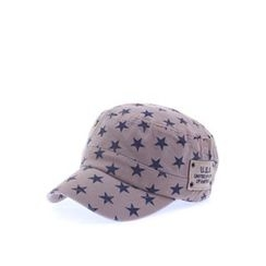 Ohkkage - Star-Patterned Military Cap