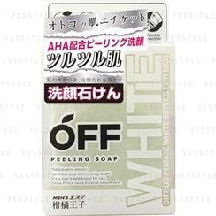 Cosmetex Roland - Kankitsu Off Peeling Soap (White Series for Men)