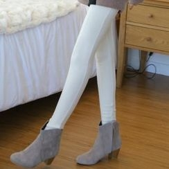 ode' - Brushed Fleece Leggings