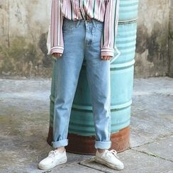 Hanme - Straight-Cut Jeans