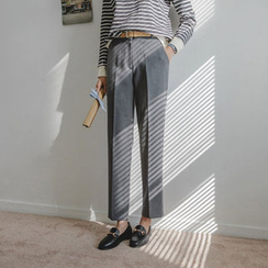 JUSTONE - Tapered Dress Pants