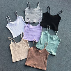 Phyllis - Ribbed Camisole Top
