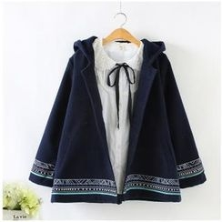 Angel Love - Patterned Hooded Jacket