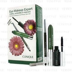 Clinique 倩碧 - Eye Makeup Expert (1x Quickliner, 1x Chubby Stick Shadow, 1x High Impact Mascara) - Green