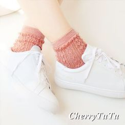 CherryTuTu - Perforated Socks