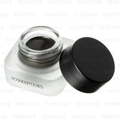 3 CONCEPT EYES - Gel Eye Liner (Glitter Khaki)