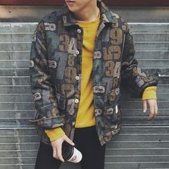 49th Day - Printed Padded Jacket