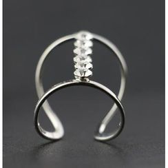 Trend Cool - Rhinestone Open Ring