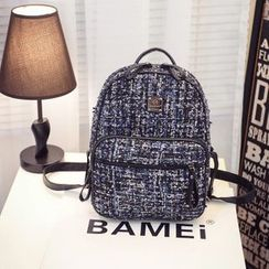 Bibiba - Tweed Backpack