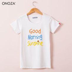 Onoza - 短袖印字T恤