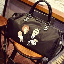 Velocia - Cartoon Applique Carryall Bag