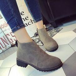 Chryse - 仿皮及踝靴