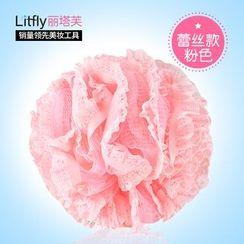 Litfly - Lace Bath Pouf