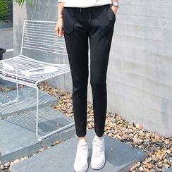 Jenny's Couture - Slim-Fit Sweatpants