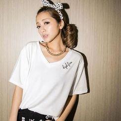 BaseZoo - Embroidered T-Shirt
