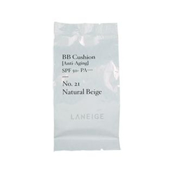 Laneige - BB Cushion Anti-Aging SPF 50+ PA+++ Refill Only (No.21 Natural Beige)