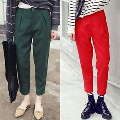 SUYISODA - Tapered Cropped Pants