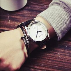 Honey Bee - Couple Matching Genuine Leather Strap Watch