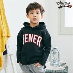 BILLY JEAN - Kids Hooded Lettering Pullover