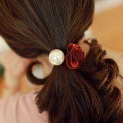 Diva Rama - 碎花珍珠发圈