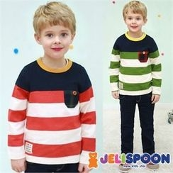 JELISPOON - Cotton Stripe T-Shirt