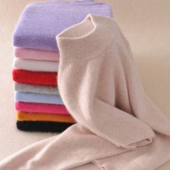 Senbel - 高领针织上衣
