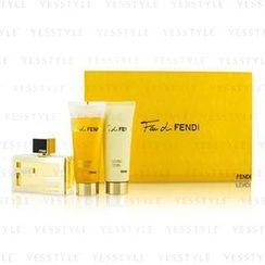 Fendi - Fan Di Fendi Coffret: Eau De Parfum Spray 50ml/1.7oz + Body Lotion 75ml/2.5oz + Shower Gel 75ml/2.5oz