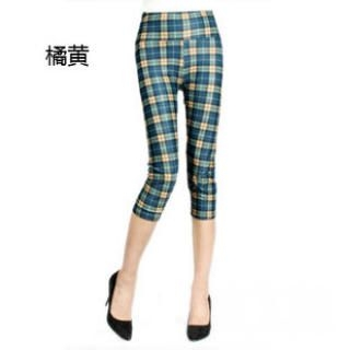 Ando Store - Plaid Capri Pants